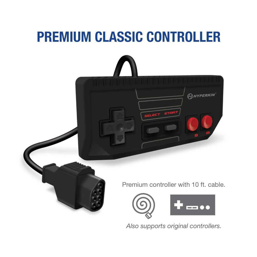 Hyperkin RetroN 1 HD Gaming Console for NES (Black): Video Games