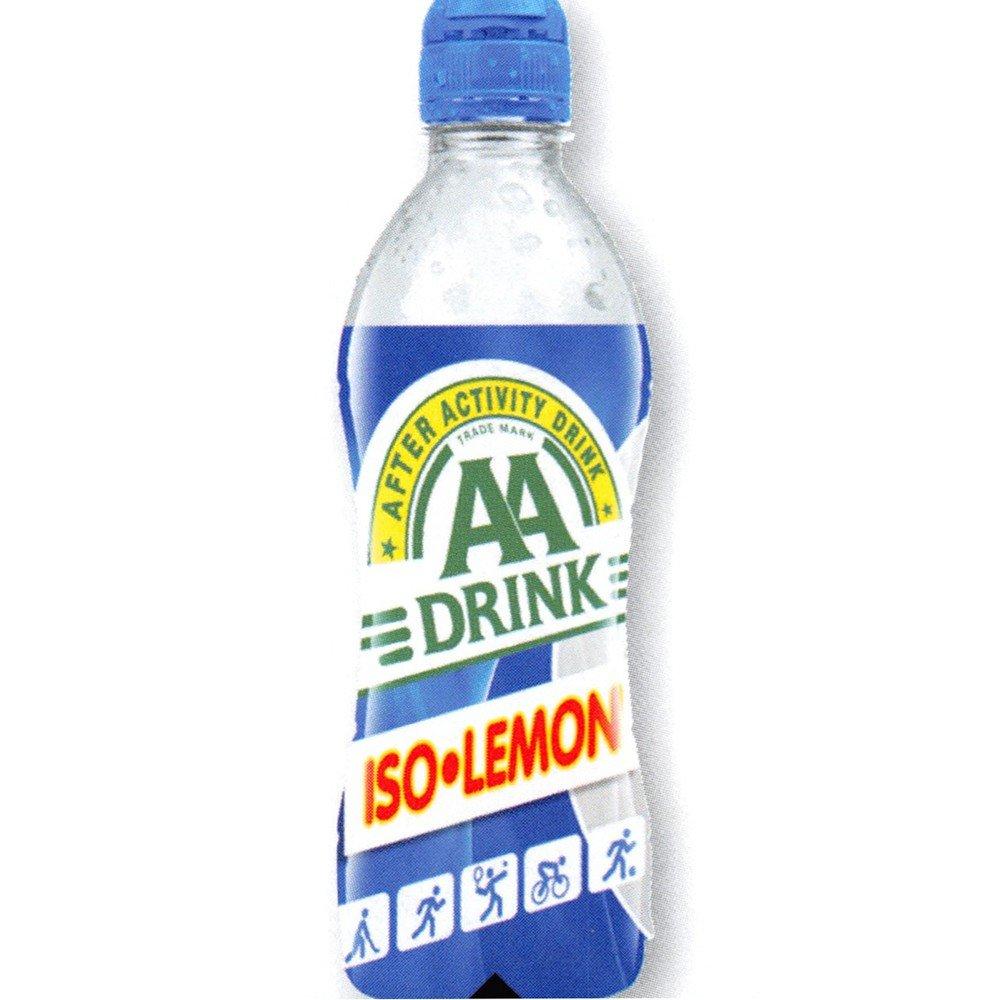 AA Drink Iso Lemon 12 x 500 ml Flasche (Isotonisches Sportgetränk ...
