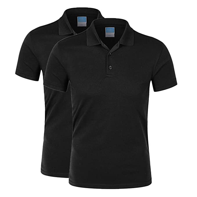 b7859727 Averywin Women's Golf Polo Shirts Short Sleeve Dry-Fit 3-Button Sports  Outdoors Tops