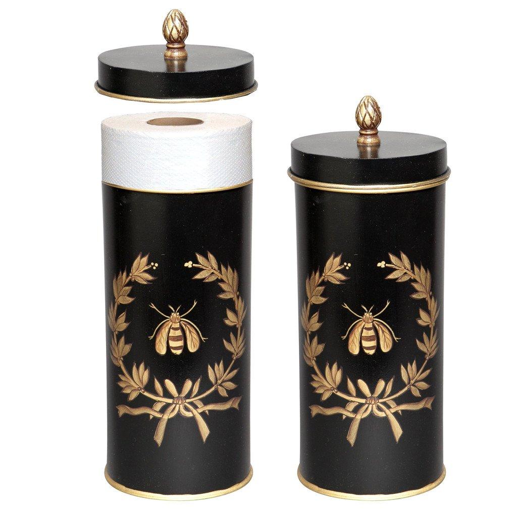 Toilet Roll Storage Holder Free Standing Toilet Roll Toilet Paper Holder Black Napoleon Bee