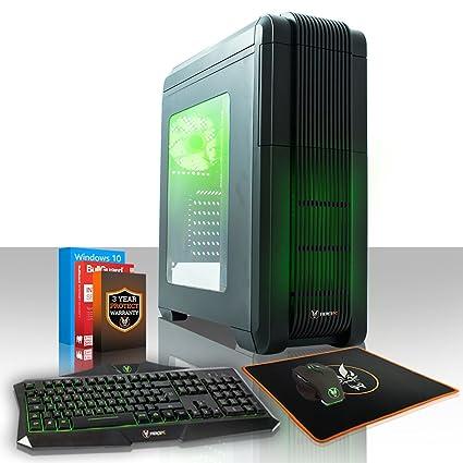 Fierce Ursa Quad Core Intel Gaming PC - HDD y SSD, Opciones de 8 ...