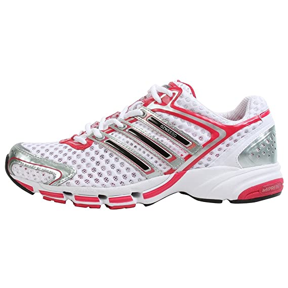 Terrible honor camioneta  Buy adidas Women's Ozweego 365 Running Shoe, White/Black/Magenta, 7.5 M at  Amazon.in