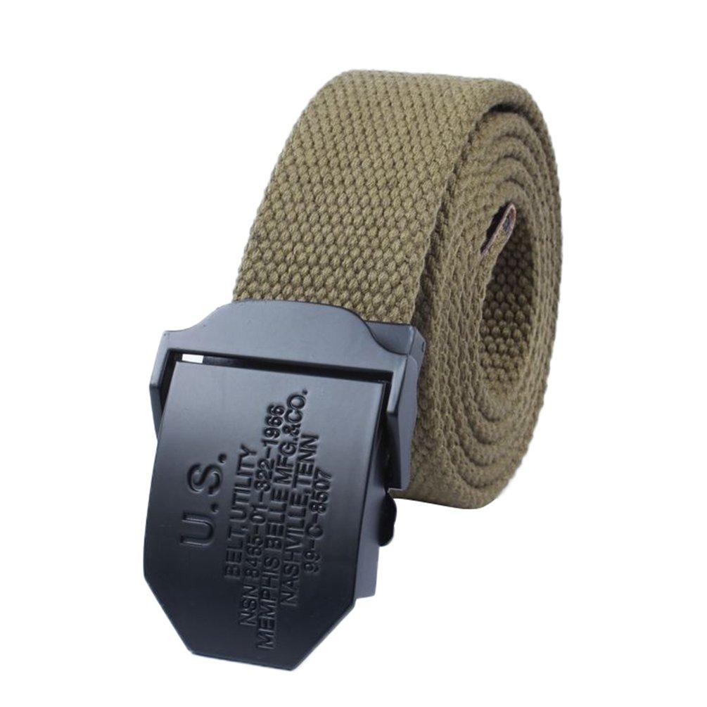 Lihaer Cintura Classica In Tela Da Uomo Cintura Intrecciata Per Il Tempo libero All'aria Aperta Unisex Cinture Di Tessuto