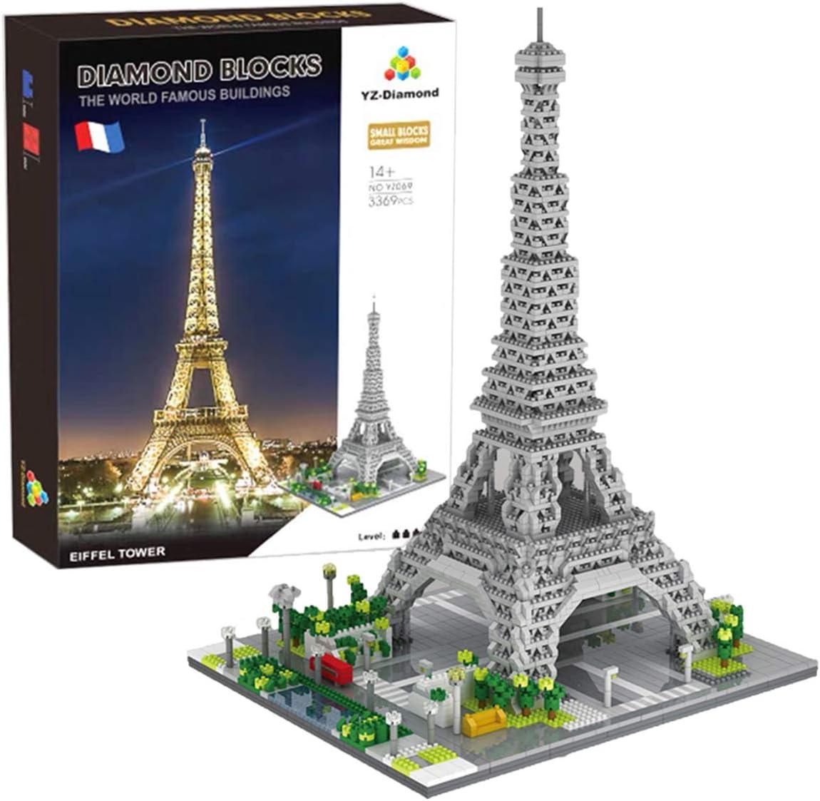 LOZ 1016 Fallingwater Pennsylvania Mini Blocks Diamond World Famous Building Toy