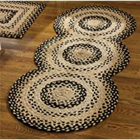Cornbread Braided Runner Rug - 30 x 72