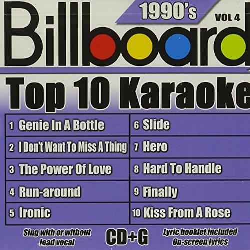 Billboard Top-10 Karaoke - 1990's Vol. 4 (10+10-song CD+G)