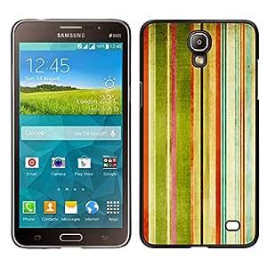 EJOY---Cubierta de la caja de protección para la piel dura ** Samsung Galaxy Mega 2 ** --Rayas Pintura de la acuarela del arco iris Arte