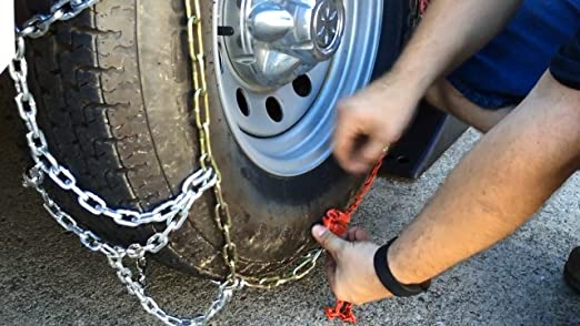 235//55-17 235//55R17 Tire Chains Diamond Back Link Traction Passenger Vehicle
