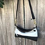 Willamette Crossbody in cowhide and full grain leather by Meant Mfg.