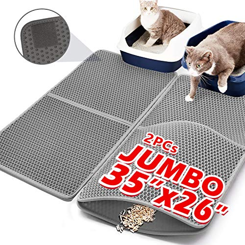 Upgraded Cat Litter Mats Extra Large 35