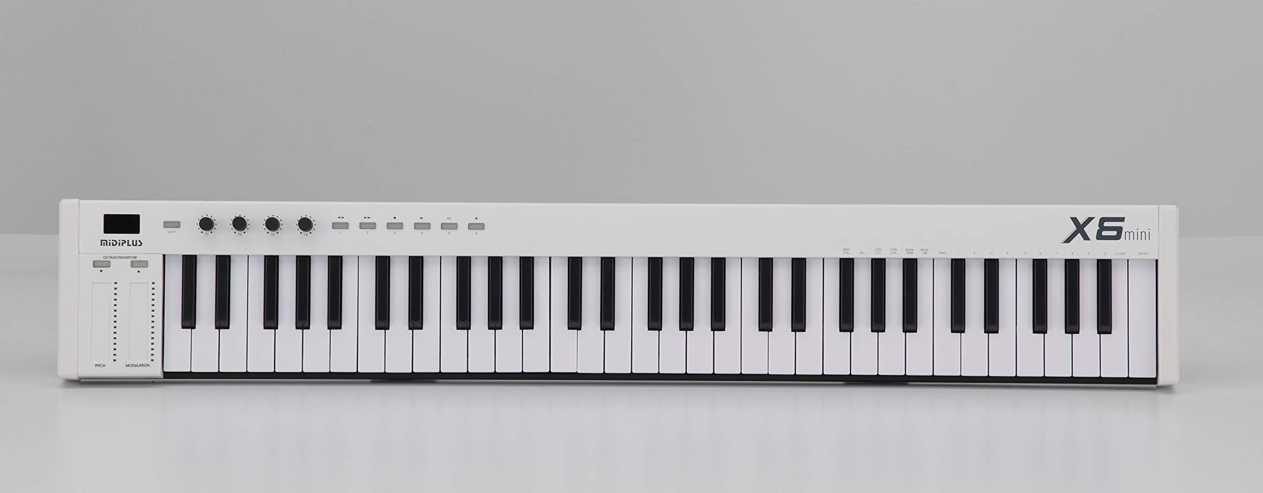 midiplus MIDI Keyboard Controller, (X6 mini) by Midiplus
