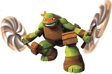 Amazon.com: 10 pulgadas Michelangelo Nunchucks Mikey Mike ...