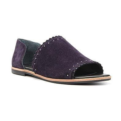 Franco Sarto Women's Azmond Dark Purple Sandal 5.5 M