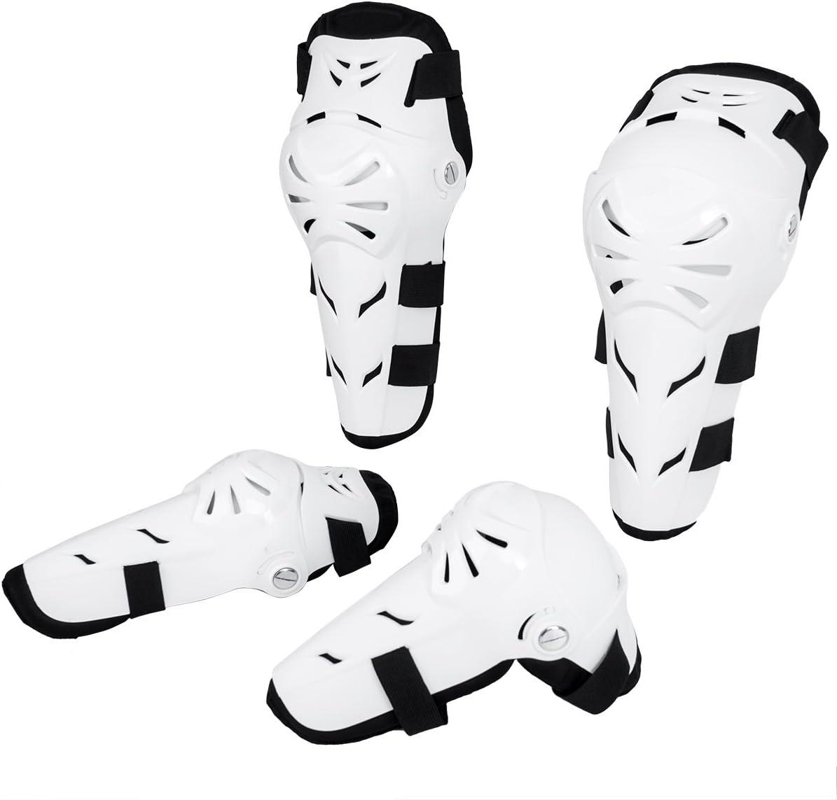 Kit di Ginocchiere Gomitiere Protezione Ginocchio Anatomico MTB Moto Sport Estremi