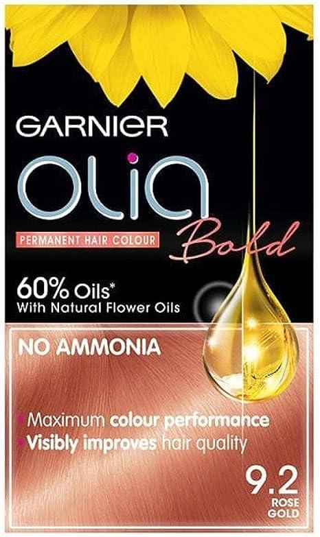 Garnier Olia Bold Color de cabello permanente 9.2 oro rosa
