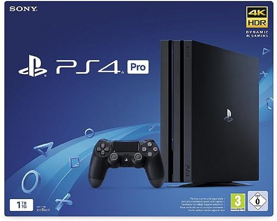 Sony PlayStation 4 Pro 1TB Negro 1000 GB Wifi - Videoconsolas ...
