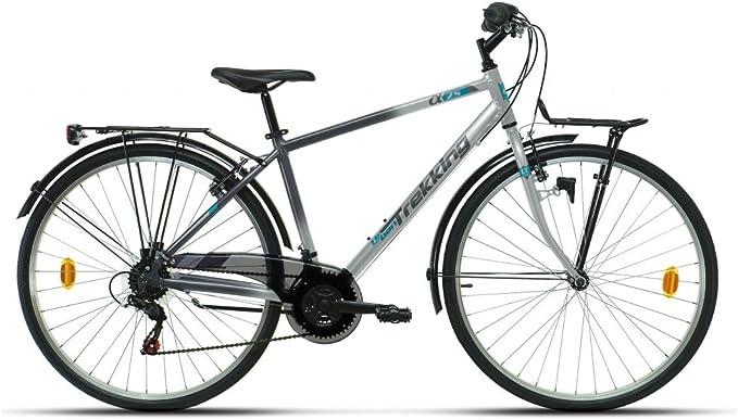 RACER 2665403031 - Bicicleta Trekking 28p Alfa 270 Man Amarilla ...