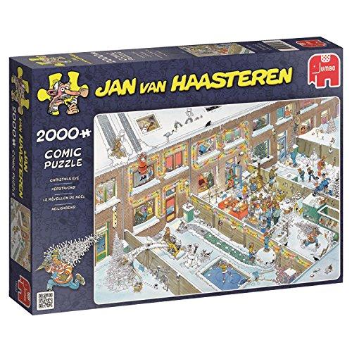 Jumbo Jan van Haasteren - Christmas Eve 2000 Piece Jigsaw Puzzle