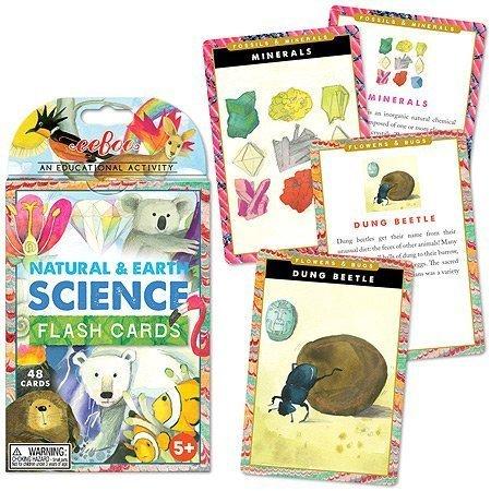 EeBoo Flash Cards, Natural Earth and Science by eeBoo