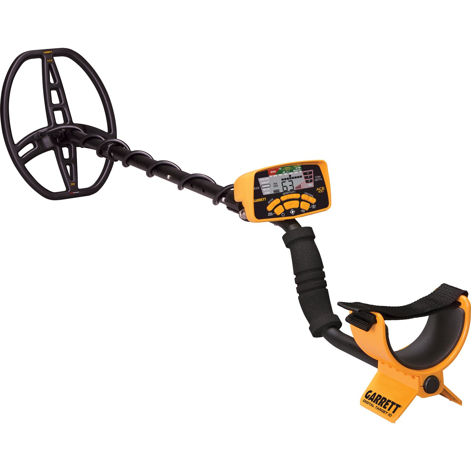 Amazon.com : Garrett ACE 400 Metal Detector w/ Z-Lynk Wireless Audio System & Pro Pointer AT : Garden & Outdoor