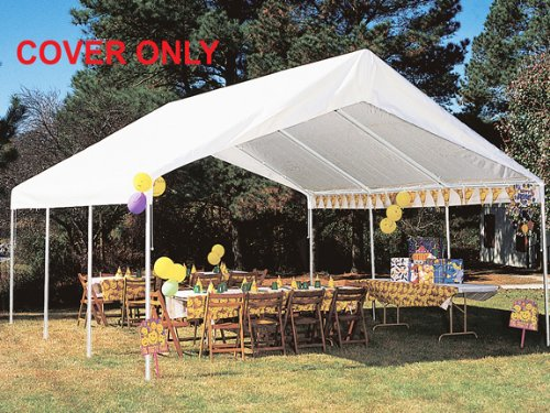 King Canopy Drawstring Cover 18x20 White PIC AMERICA LTD TDS1820-5 M328788