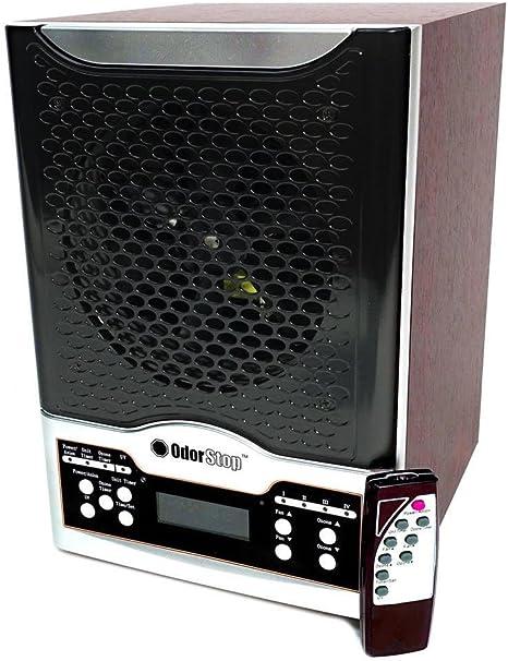 Odorstop OSAP7B - Purificador de Aire 7 en 1 con Verdadero Filtro HEPA, UV, carbón Activo, ionizador, TiO2, 3 Placas ...