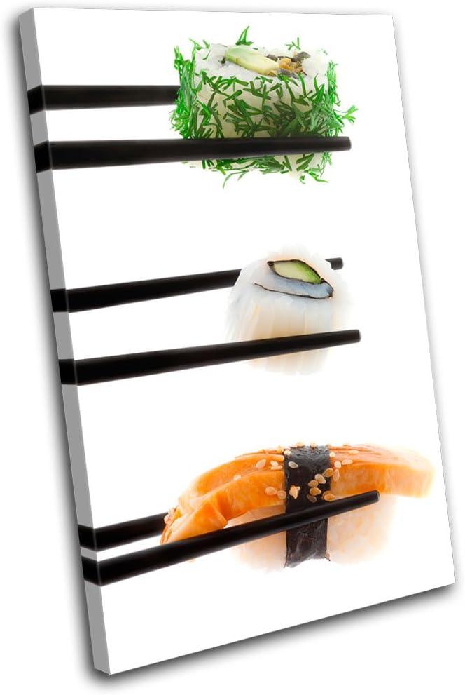 Amazon Com Bold Bloc Design Sushi Japanese Food Kitchen