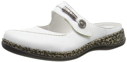 Rieker 46388-80, Zuecos para Mujer: Amazon.es: Zapatos y ...