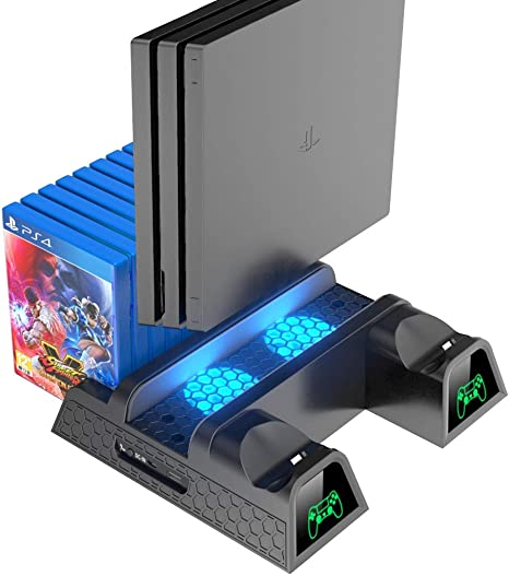 Ventilador de refrigeración OIVO compatible con PS4/PS4 Pro/PS4 ...