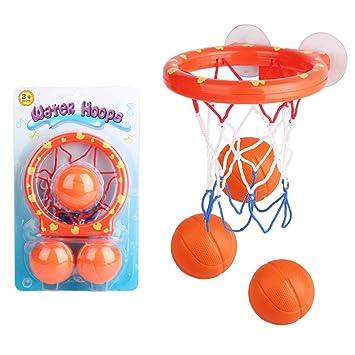 XingYue Direct Niños Niños Juguetes de baño Baloncesto Pelota de ...