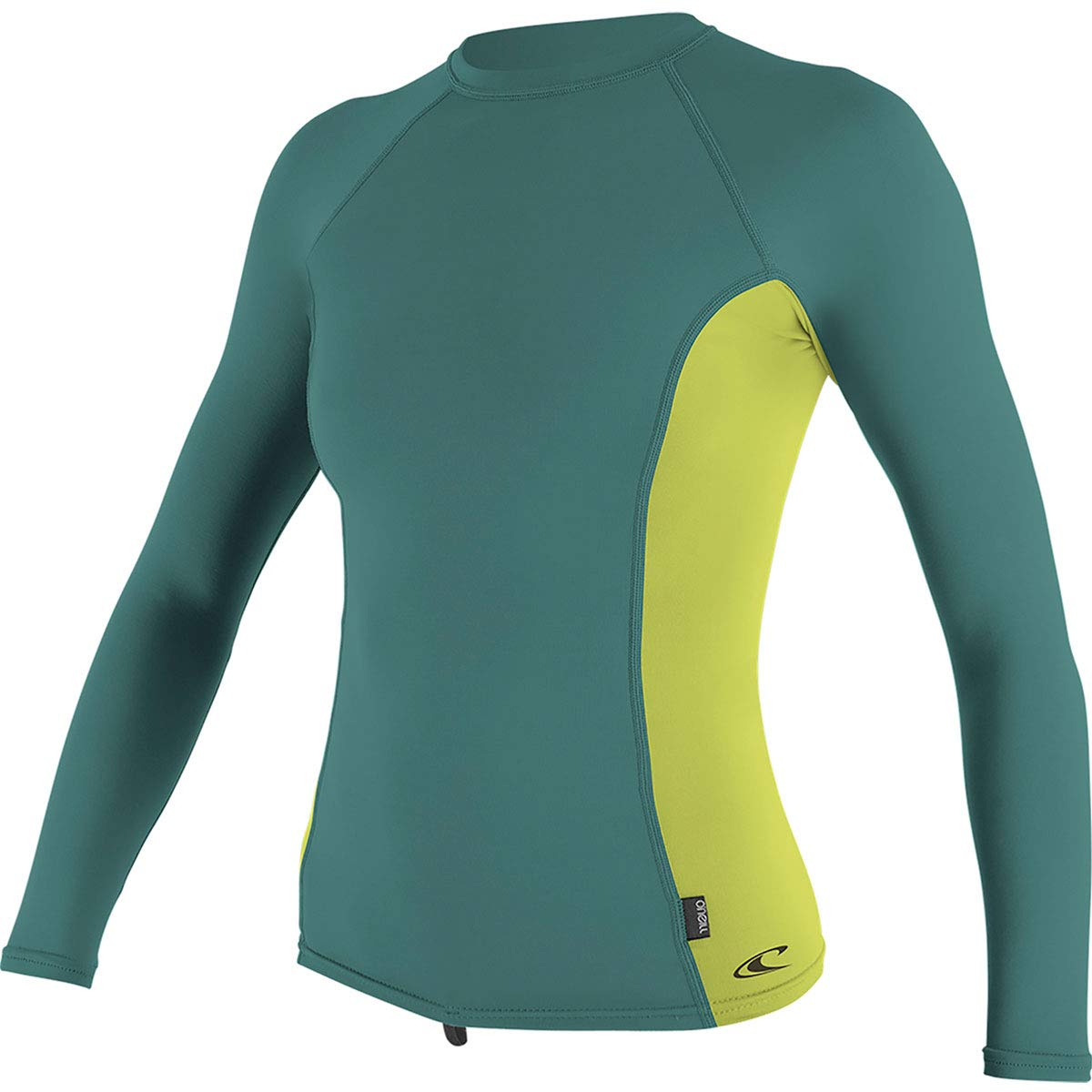 O'Neill Side Print Women's Long-Sleeve Rashguards - Abyss/Faro/Large