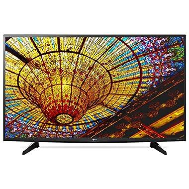 LG Electronics 49UH6100 49-Inch 4K Ultra HD Smart LED TV (2016 Model)