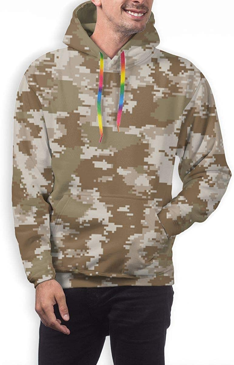 GUAHUAXIANG Athletic Pullover Hoodie Hooded Sweatshirt for Mens Camouflage Camo Military