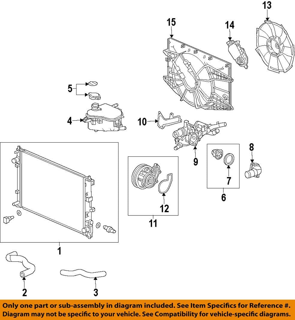 Genuine Honda 19305-5R0-000 Thermostat Mounting Rubber