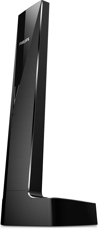 Philips Linea V M3501B - Teléfono inalámbrico diseño con Manos Libres, Bloqueo de Llamadas, Sonido Puro y Claro, Negro: Amazon.es: Electrónica