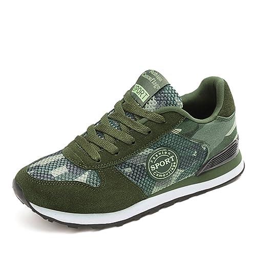 Chaussures De Sport Pour Hommes en daim Textile De Course Casual BZH-XZ119Rouge39 Y6HejlNta