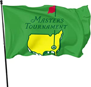 Leonner Masters Tournament PGA Golf Sports Flag 3x5 Feet, Easy to Disassemble, Durable Polyester Party Home House Garden Flag Decor, Durable Outdoor Flag.