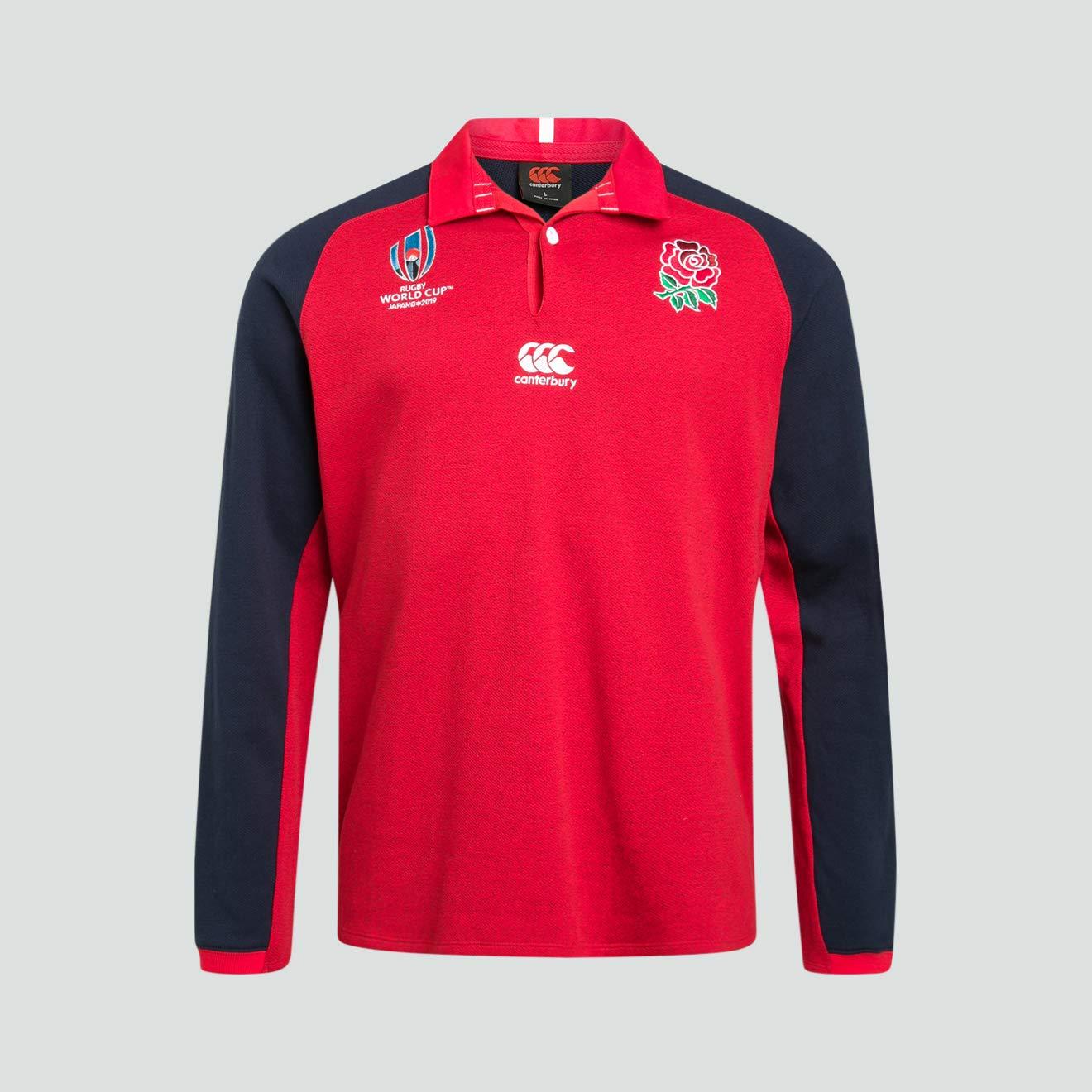 Canterbury 2019 - Camiseta de Rugby de Manga Larga para niños ...