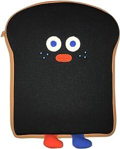 "SMCompany Tablet Sleeve Case for iPad Pro 9.7"" 10.5"" 11"" Fabric Protective Laptop Bag Toast Black"
