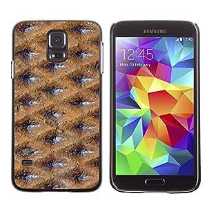 Smartphone Rígido Protección única Imagen Carcasa Funda Tapa Skin Case Para Samsung Galaxy S5 SM-G900 Surface Texture Design Pattern Wallpaper / STRONG