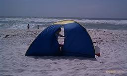 pop up beach tent folding instructions