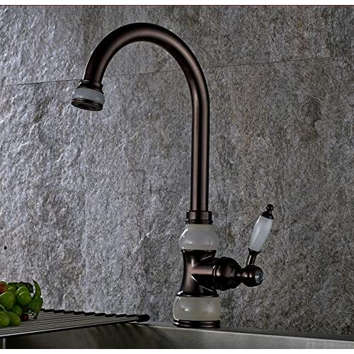 PST@ Black antique basin faucet antique faucet hot and cold water faucet low-cost