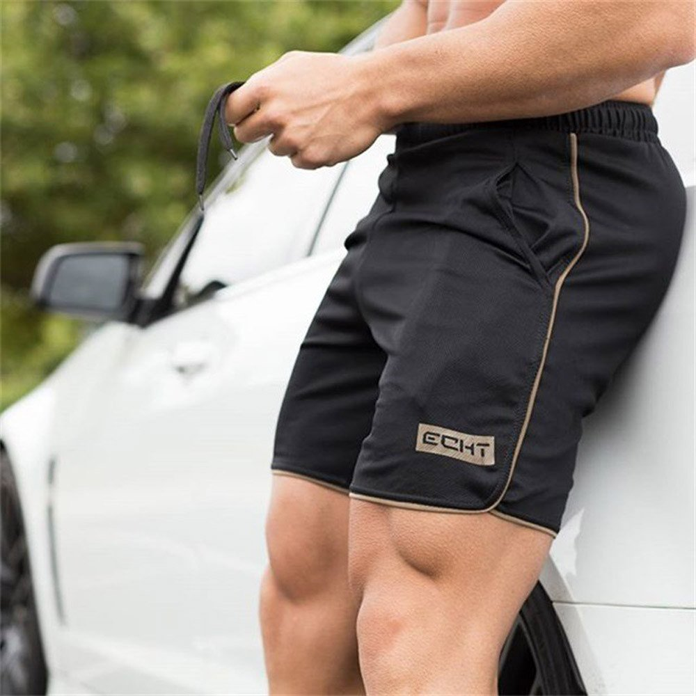 Men's Sports Training Bodybuilding Pants-Summer Shorts Workout Fitness Gym Short Pants- Sunsee Teen 2019 New Year