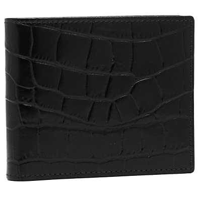 d90f574a3534 エッティンガー 財布 ETTINGER CC030J CROCO BILLFOLD WALLET WITH 6 C/C メンズ 二つ折り財布