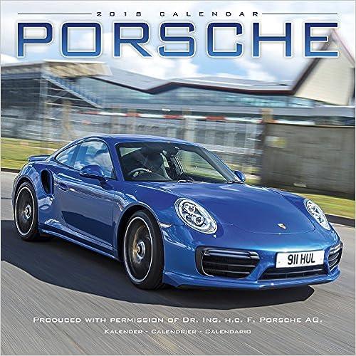 Porsche 2018 Wall Calendar