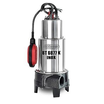 Elpumps BT 6877 K INOX - Bomba de corte sumergible para aguas residuales (1600 W, 26.000 l/h): Amazon.es: Bricolaje y herramientas