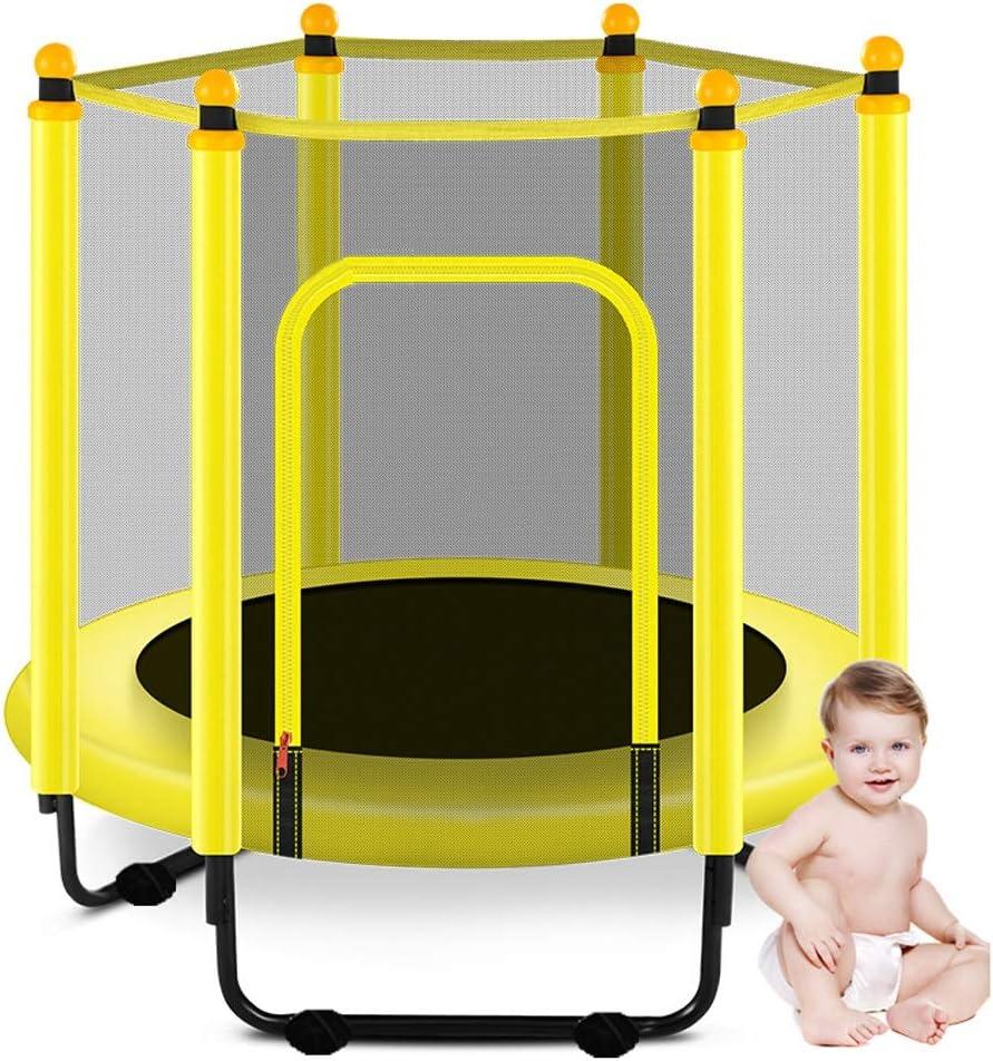 Trampolines recreativas adultos de los niños al aire libre y cubierta Jardín trampolín con recinto de la seguridad neto niños del patio trasero ultra silencioso Mini Bungee cama ( Size : 120×130cm )