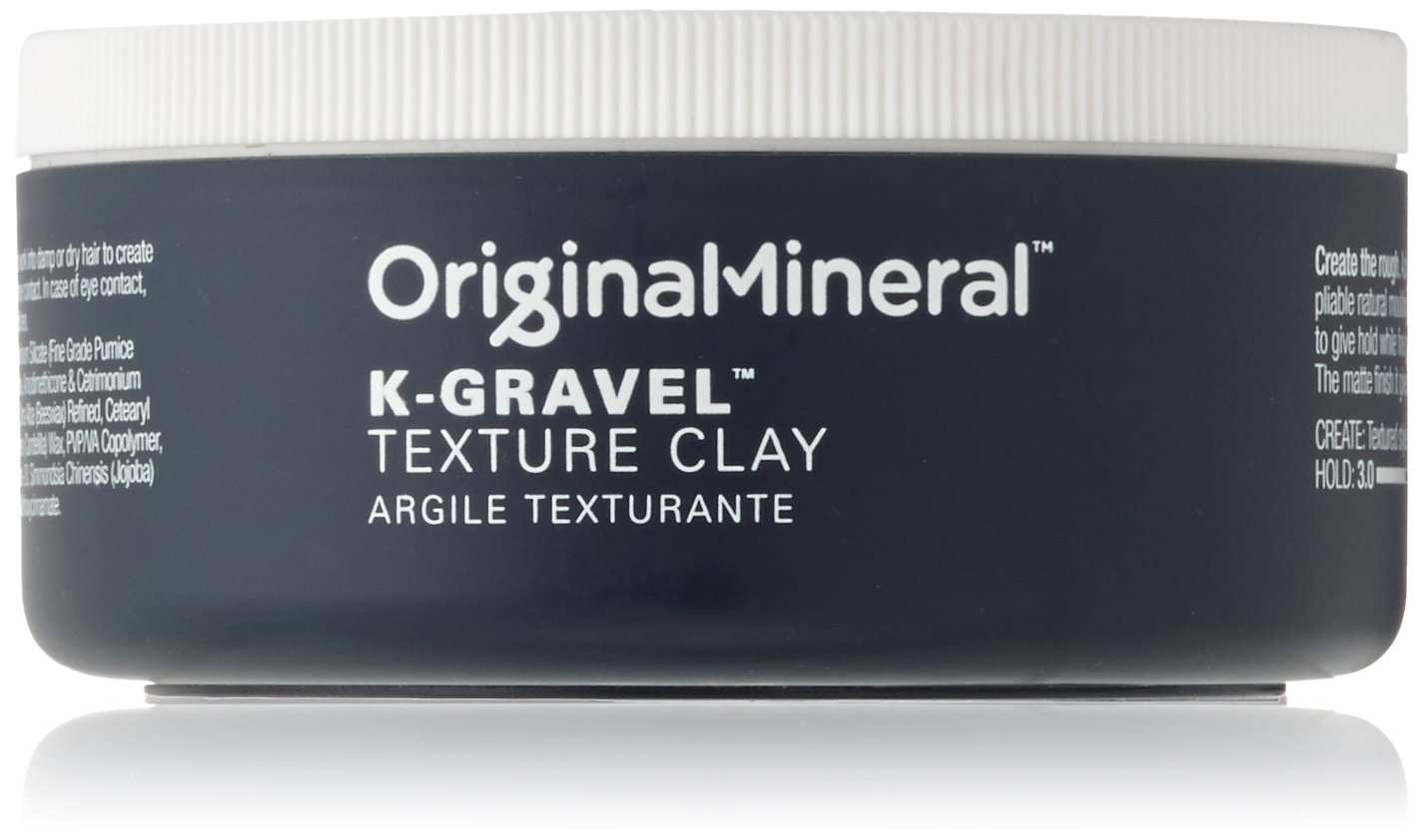 Original Mineral K-Gravel Texture Clay - 3.5 oz by O&M Original Mineral
