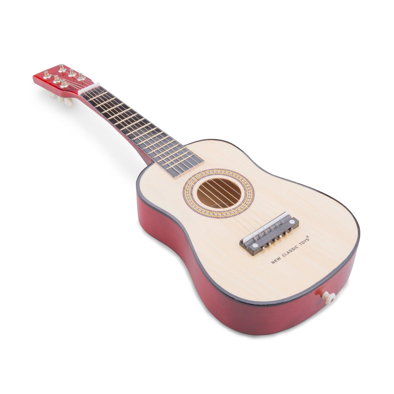 New Classic Toys New Classic Toys-10344 0344-Guitarra de Juguete, Natural, Color Madera (Ref 0344): Amazon.es: Juguetes y juegos