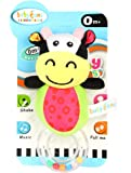Offspring Baby Hand Soft Rattle Toy, Cow, Multicolor